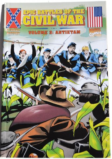 Epic Battles of The Civil War Antietam Marvel Historical Comics